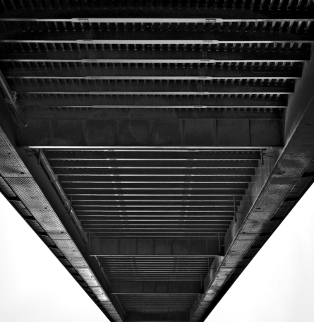 Theodor Heuss Brücke Architektur Düsseldorf Jens Hollmann Fotografie