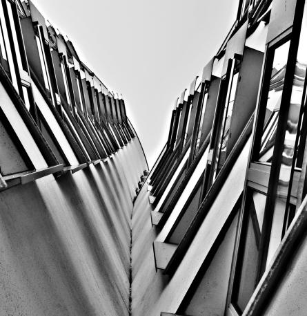 Gehry Medienhafen Düsseldorf Architektur Jens Hollmann Fotografie